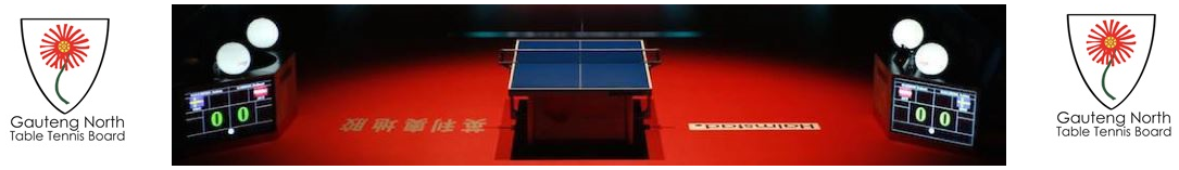 Gauteng North Table Tennis Board